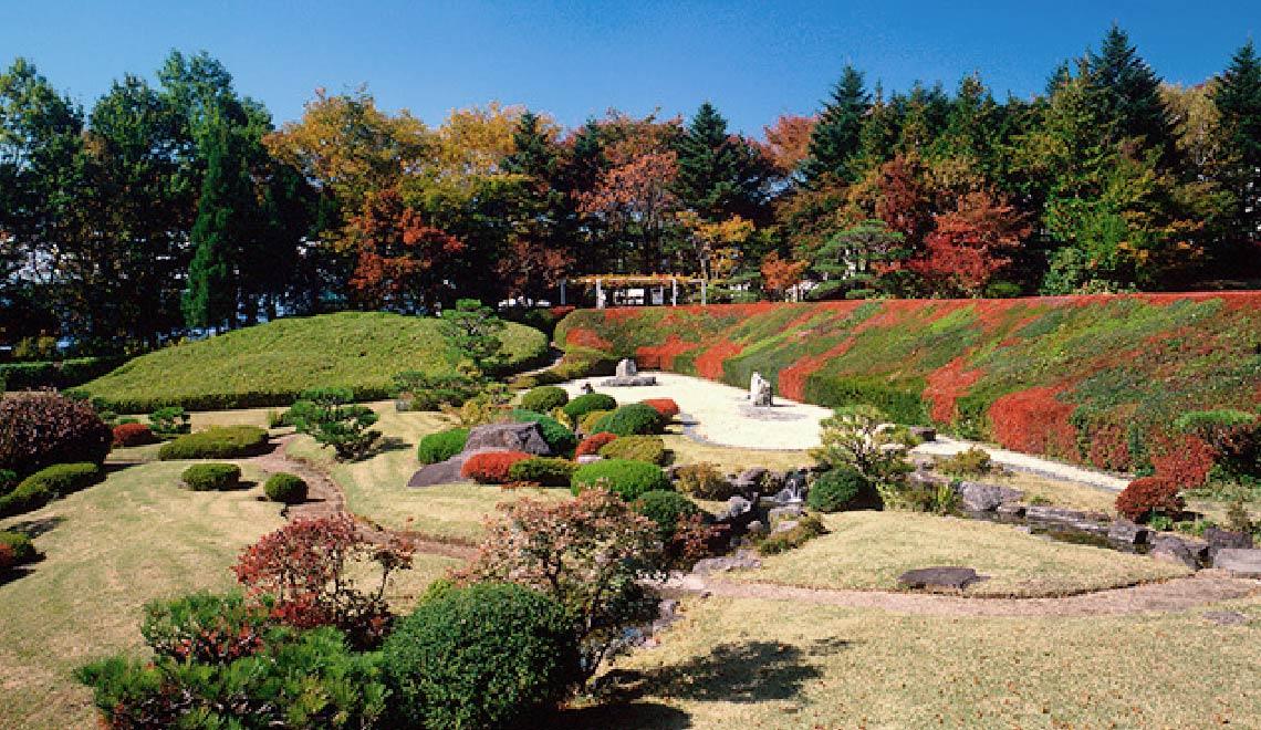 写真:日本庭園「万酔園」